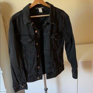 H&M Black Denim Jacket